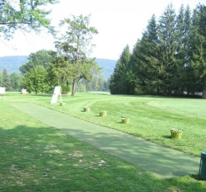 Blue Ridge Country Club Driving Range Tee Line